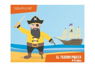 El tesoro pirata - 4-5 años