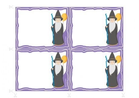 Invitaciones de cumpleaños imprimibles - El Mago Lineus
